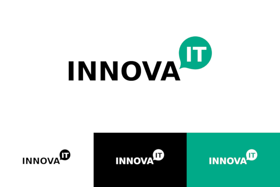Logotype for Innova IT - a company selling software for small call centres